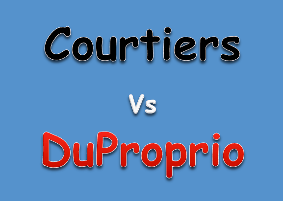 Courtiers vs DuProprio